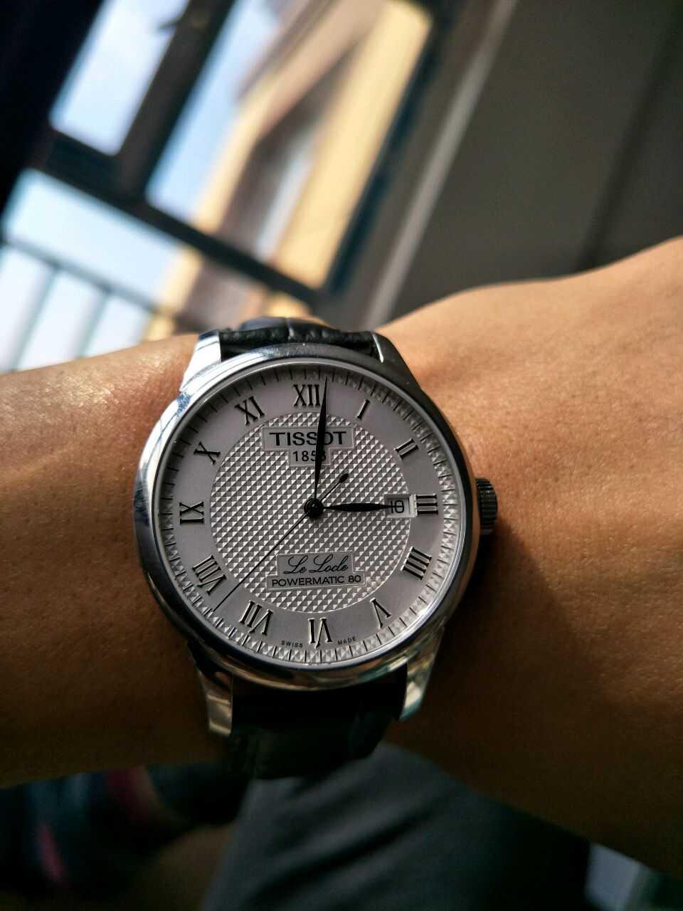 天梭T006.407.16.033.00手表【表友晒单作业】戴了一个星...