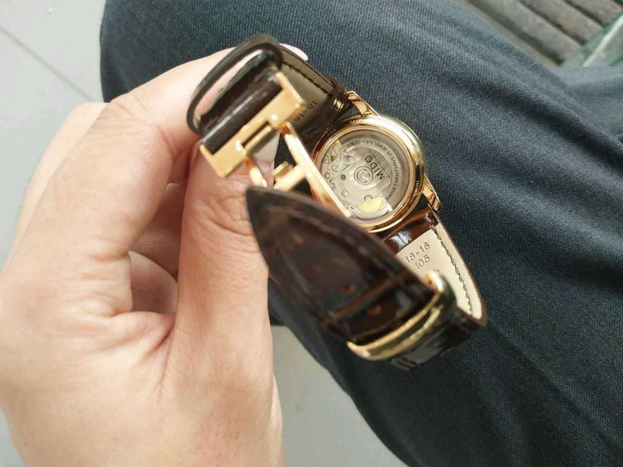 美度M007.207.36.291.00手表【表友晒单作业】老婆看着这...