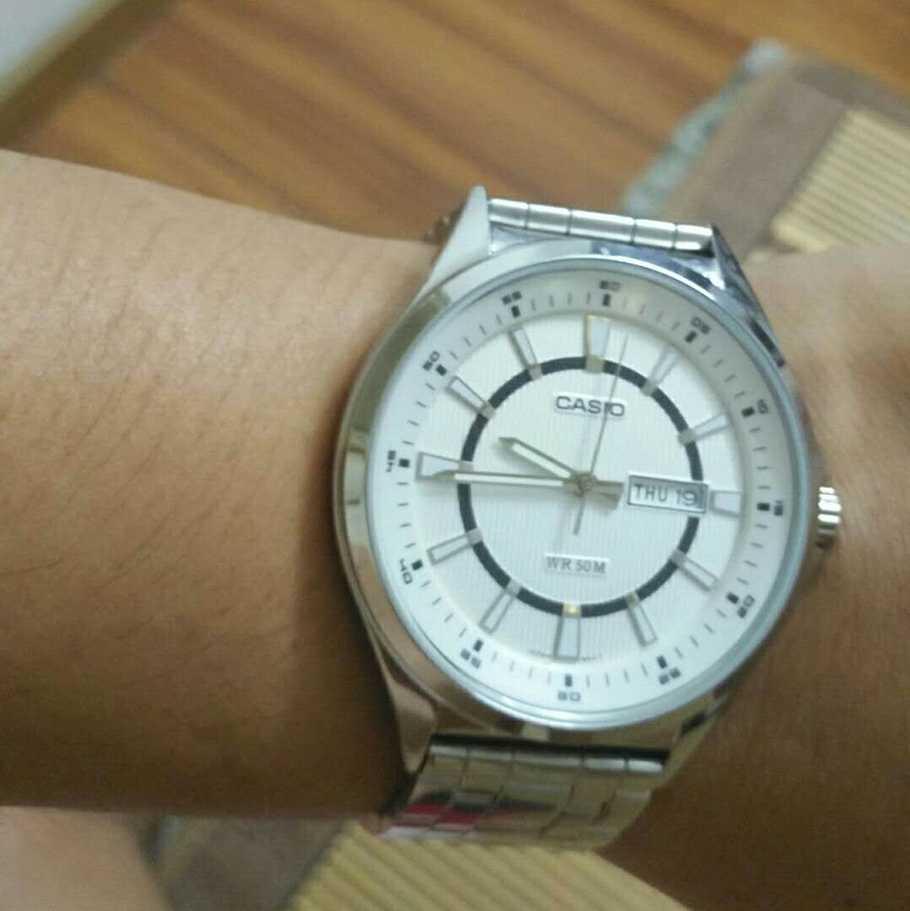 卡西欧MTP-E108D-7AVDF手表【表友晒单作业】男同事也是...