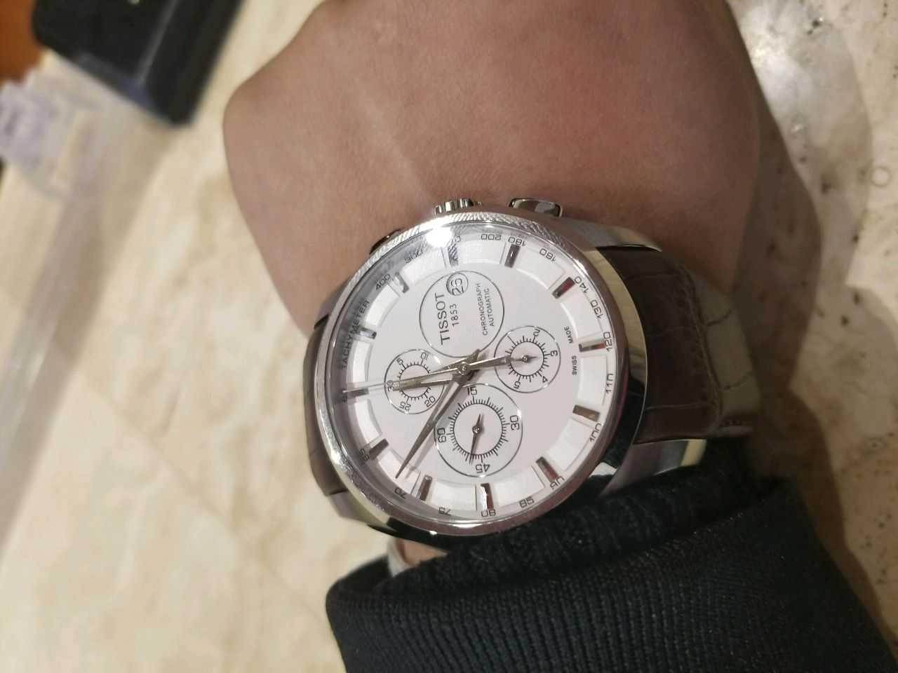 天梭T035.627.16.031.00手表【表友晒单作业】正品,以后...