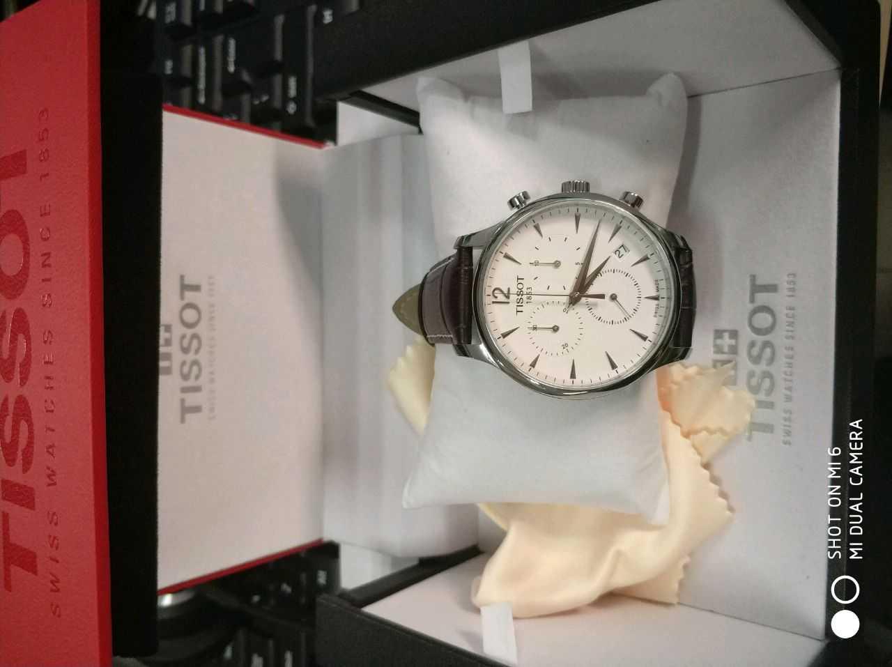 天梭T063.617.16.037.00手表【表友晒单作业】这款天梭表...