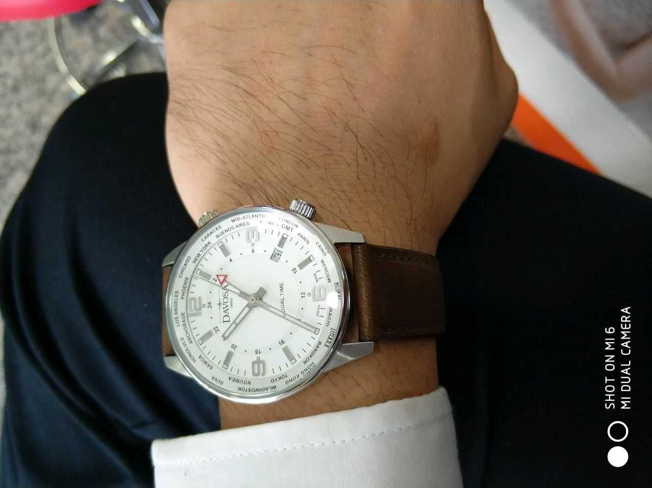 迪沃斯16249215手表【表友晒单作业】很喜欢,不...