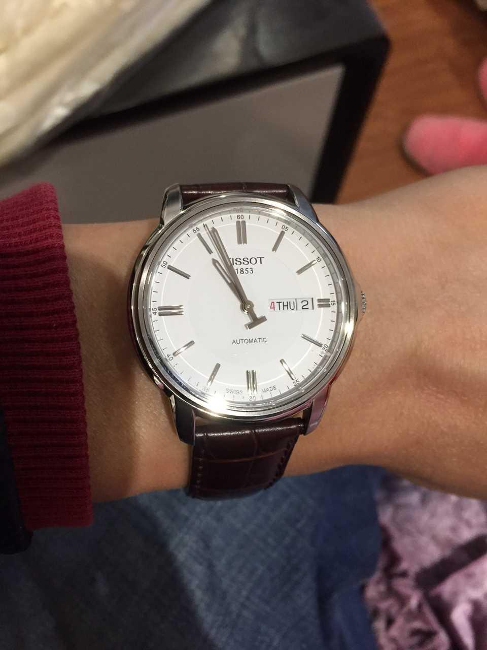 天梭T065.430.16.031.00手表【表友晒单作业】这表本王已...