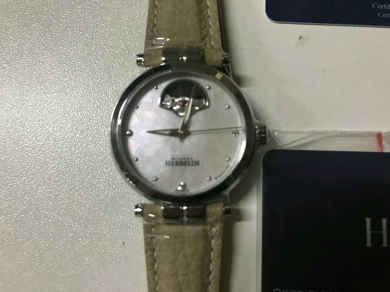 赫柏林1655/CO89SA手表【表友晒单作业】很漂亮的一...