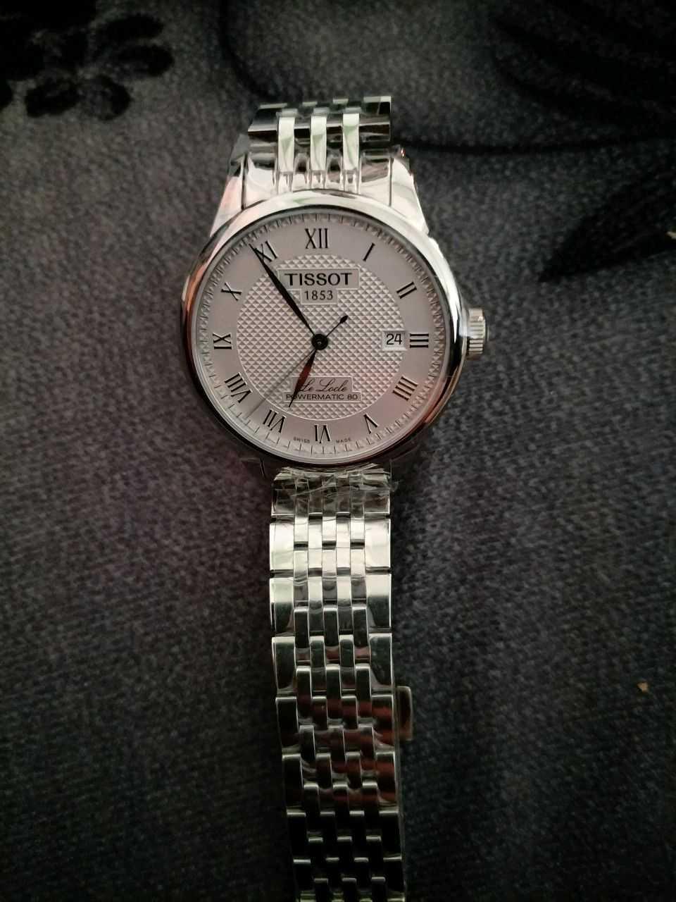 天梭T006.407.11.033.00手表【表友晒单作业】看了很久,...