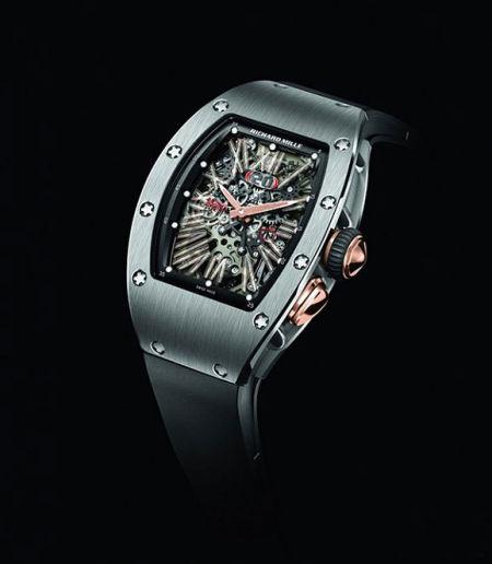 2012日内瓦钟表展:RICHARD MILLE RM 037自动腕表