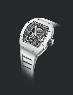 高尔夫球表:RICHARD MILLE RM 038 陀飞轮 BUBBA WATSON 手表