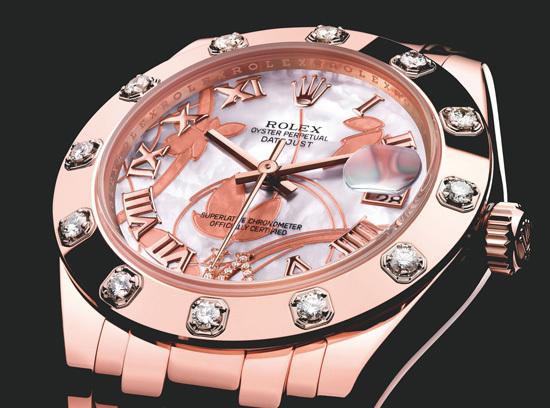 劳力士蚝式恒动日志型特别型号手表