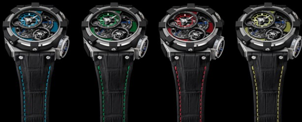 大胆创新 君皇Concord C1 Tourbillon Gravity腕表