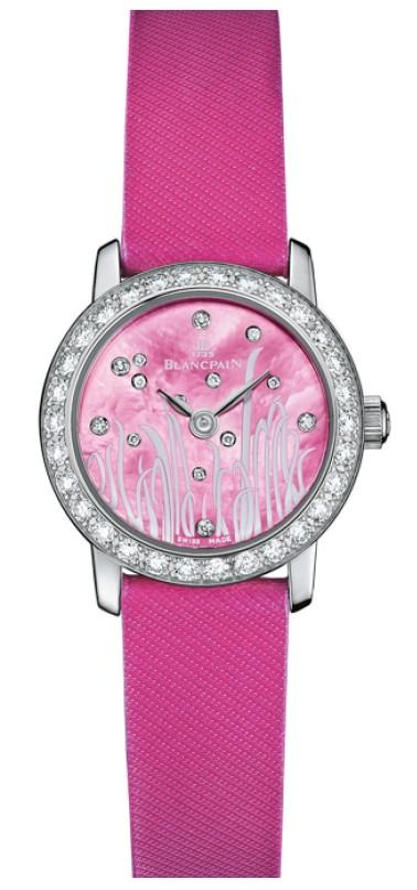 宝珀镶钻手表图片赏析 宝珀镶钻手表价格多少