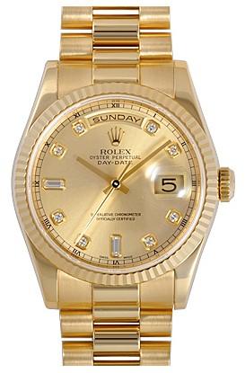 劳力士ROLEX-星期日历型系列黄金表218238-83218