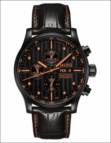 2012万圣节:美度(Mido)橙色腕表与你一起狂欢