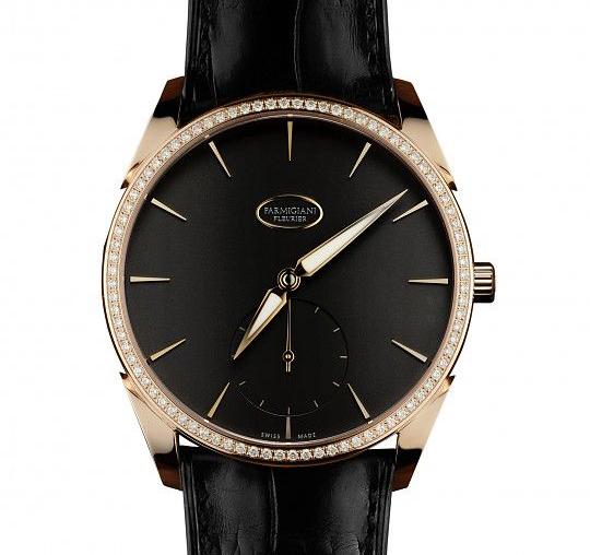 Parmigiani(帕玛强尼)推出Tonda 1950系列镶钻超薄腕表