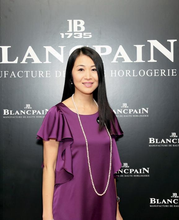 宝珀 Blancpain 香港及澳门区副总裁赵善思小姐