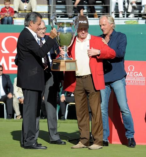 西蒙尼斯折桂2010年欧米茄欧洲大师赛