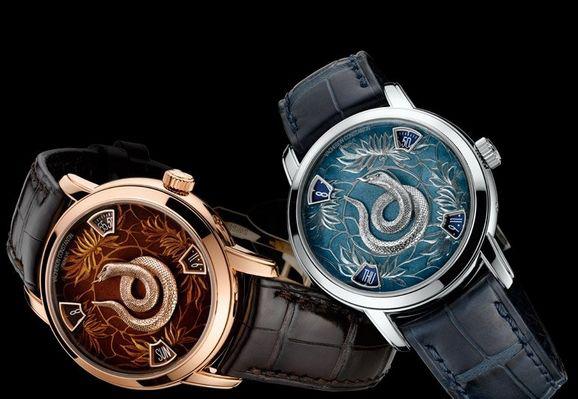 江诗丹顿腕表品牌率先发布蛇年生肖纪念腕表