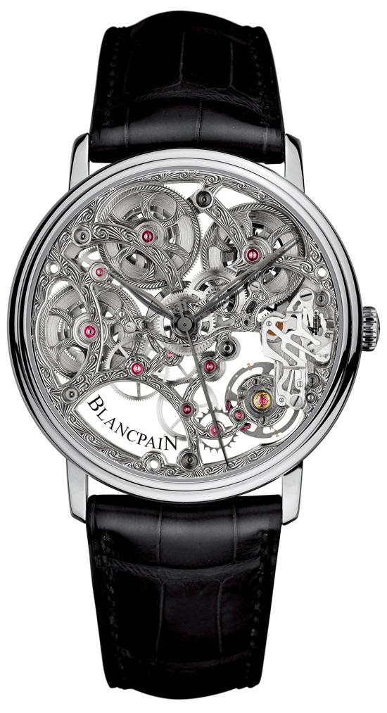 2012巴塞尔表展:宝珀 Villeret 经典系列 8 日动力储存腕表