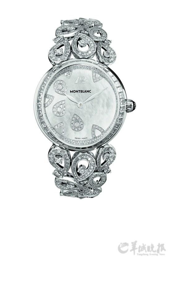 万宝龙摩纳哥格蕾丝王妃系列腕表
