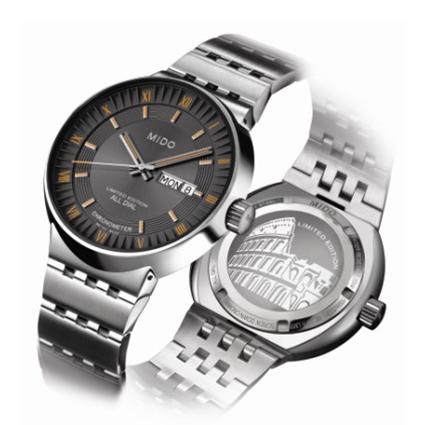 美度布鲁纳系列钻石男士腕表