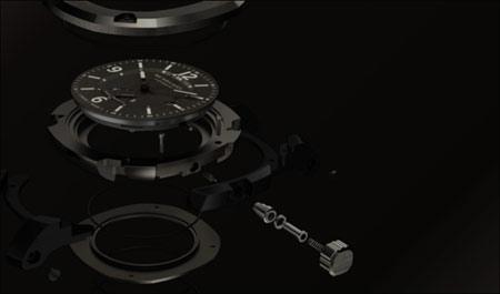 """""""英伦风尚""""BBY1000 47MM 动力储备自动腕表"""