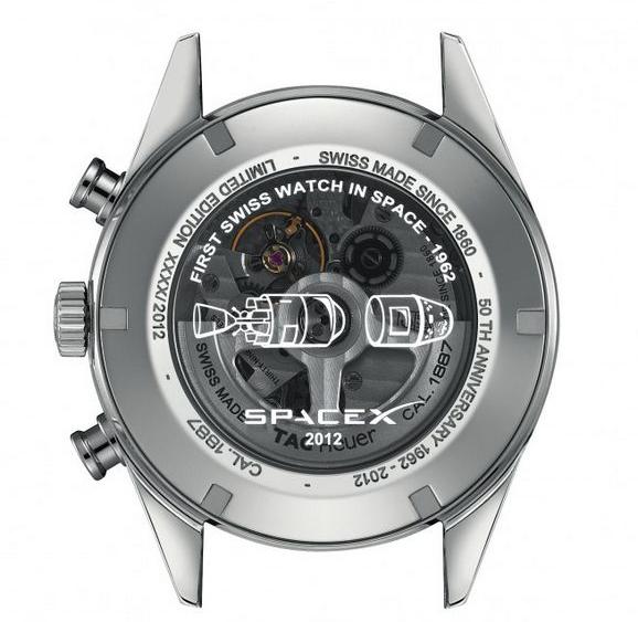 瑞士豪雅表推出进入太空50周年纪念腕表