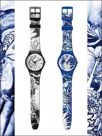 Swatch斯沃琪五款全新刺青系列腕表