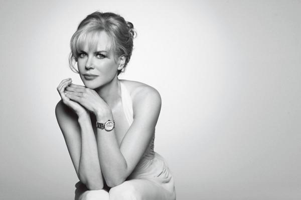 2005年成为欧米茄名人大使的奥斯卡影后妮可·基德曼