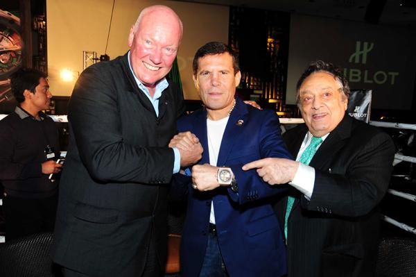 Hublot(宇舶表)携手WBC跨入拳击世界