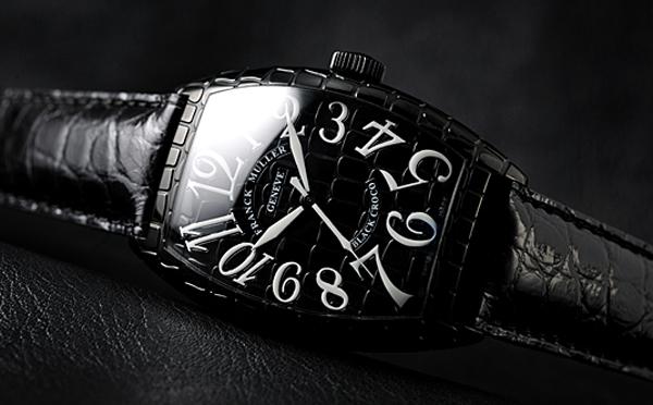 诠释酷感时尚 法兰穆勒Black Croco系列腕表