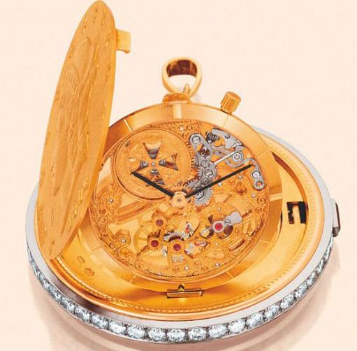 江诗丹顿金币钻石腕表