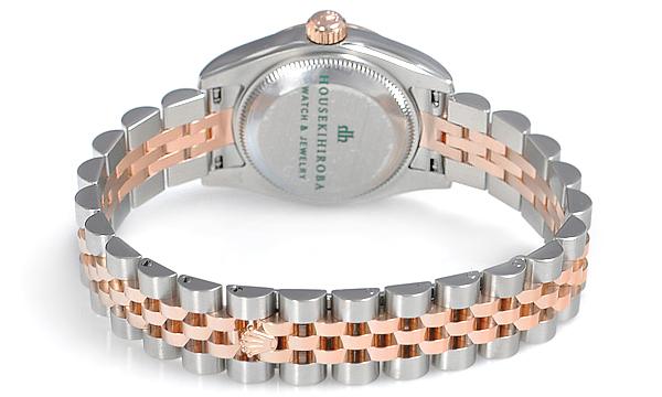 劳力士-蚝式恒动系列 179171-63131粉红罗 女士机械表 2012最新款女士手表