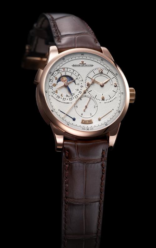 积家 DuomètreàQuantième Lunaire 双翼月相日历新款腕表