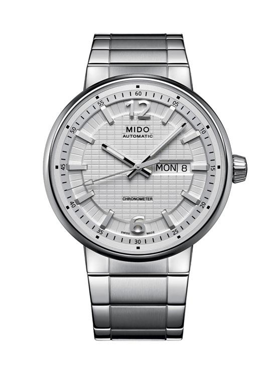 2012巴塞尔表展新品:美度长城系列腕表