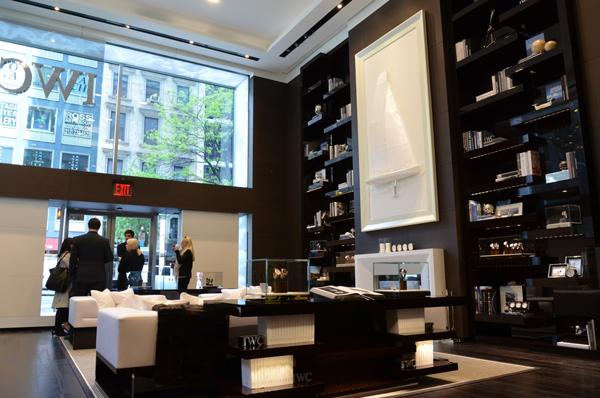 IWC(万国表)美国第一间旗舰店纽约隆重开幕
