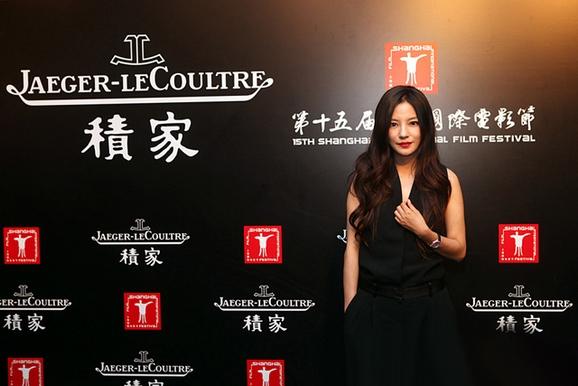赵薇在 2012积家公益拍卖晚宴现场