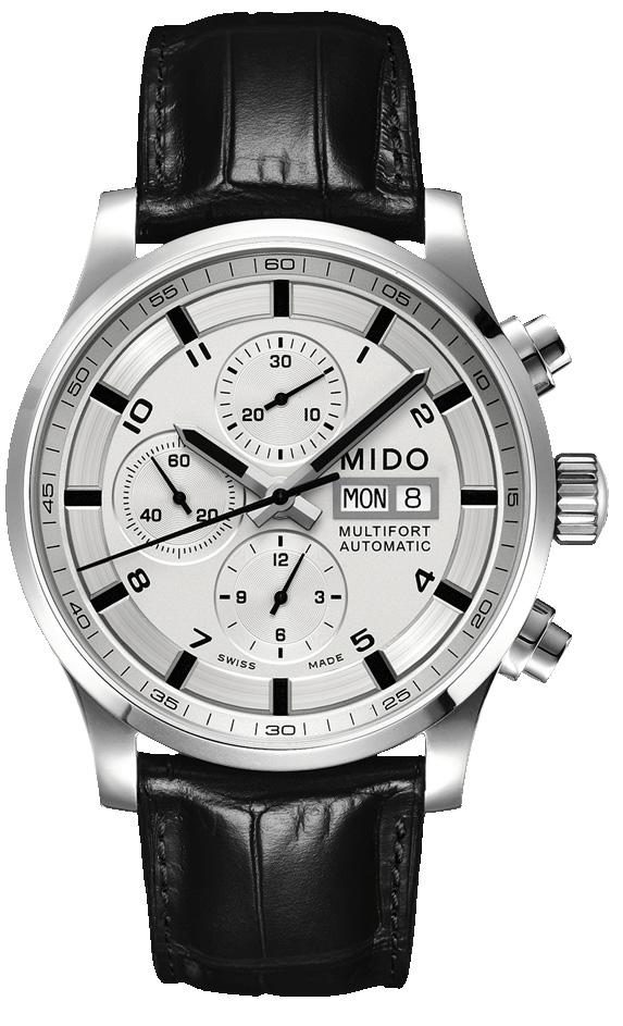 黑白烘托 优雅蕴藏于经典 美度MIDO-舵手系列 M005.614.16.037.21 男士
