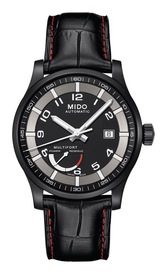 2012巴塞尔表展新品:美度舵手系列动力储存腕表