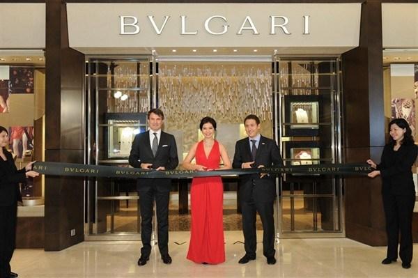 宝格丽(Bulgari)香港国金中心新店盛大开幕