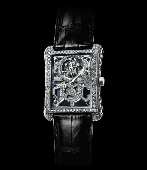 伯爵方形手表