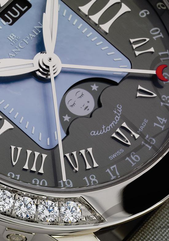 宝珀兰花系列腕表
