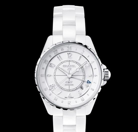 香奈儿 J12 GMT 白色陶瓷腕表
