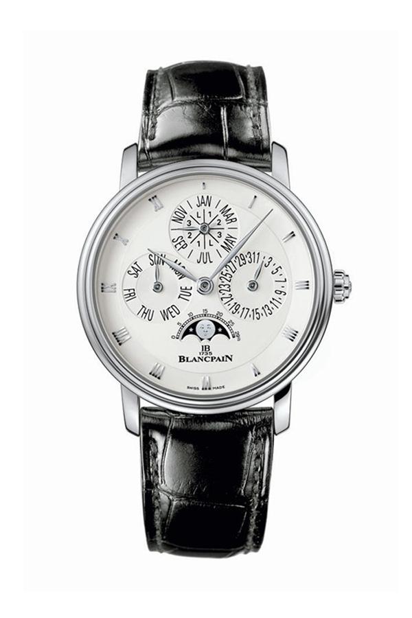 Blancpain 宝珀隐藏式调校万年历腕表