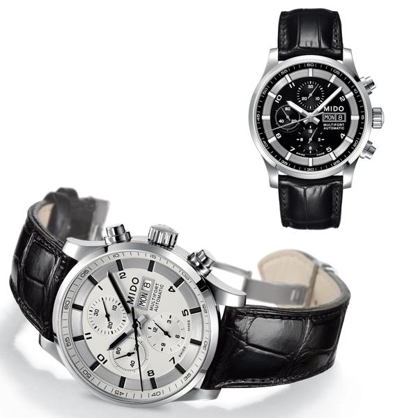驾驶伴侣 美度舵手系列多功能计时腕表