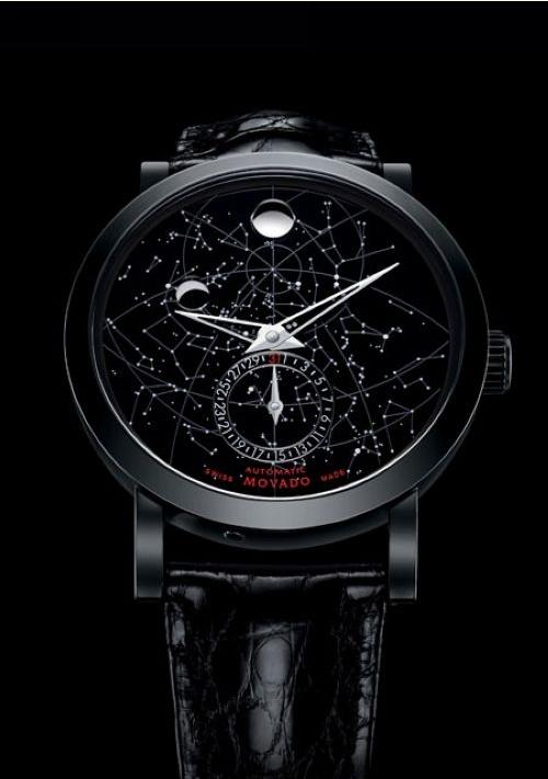 摩凡陀推出瑞红Skymap群星图像高级腕表