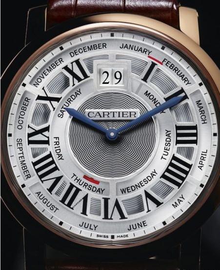 卡地亚Rotonde de Cartier年历腕表