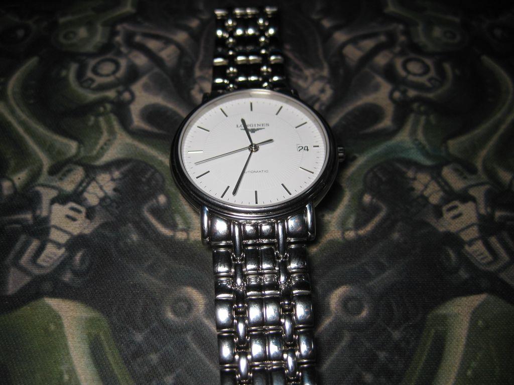 试戴浪琴瑰丽系列L4.721.4腕表
