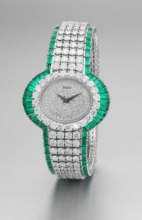 由伯爵所制作的珠宝腕表
