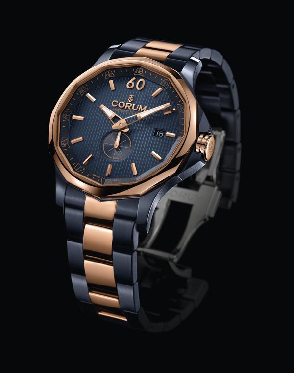男士时尚手表 海军上将杯42号限量腕表-设红金 昆仑表