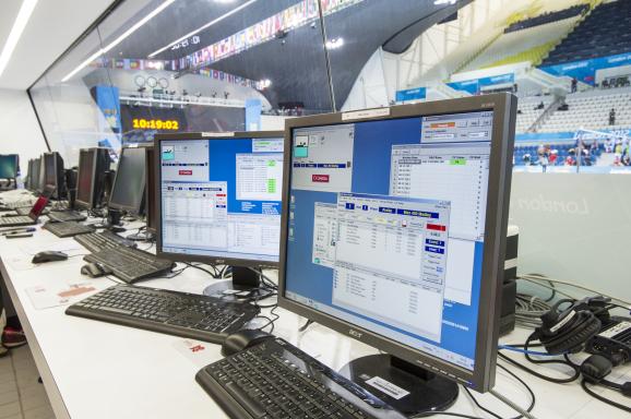 计时信息即时传输到数据处理系统之中