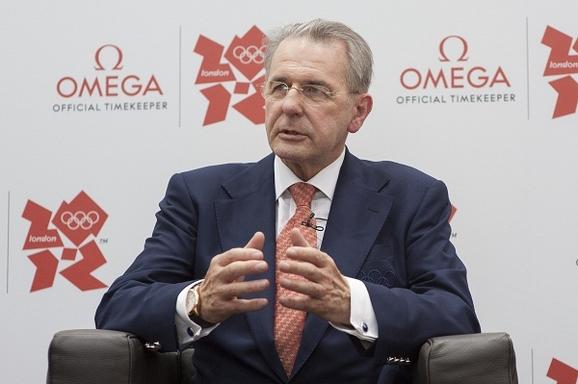 国际奥委会主席雅克·罗格对2012年伦敦奥运会寄予厚望